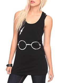 Harry Potter Bolt Girls Tank Top | Hot Topic