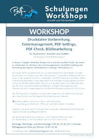 Pdf X Erstellung Und Farbmanagement Mit Prepress Profi Ralf