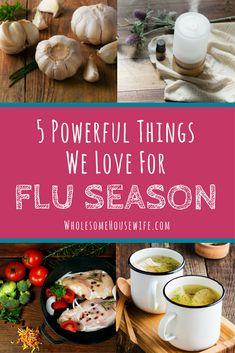 5 Powerful Things We Love For Flu Season