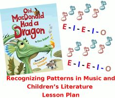 Recognizing patterns in music & children's literature: Music education lesson plan