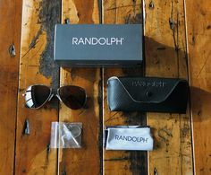 American made, classic looks, and great style. Not only that, but the glasses are handcrafted in the USA, and are standard military issue. Doesn't get much better than that. Randolph Engineering aviators.