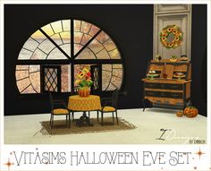 3T4 Vitasims Halloween Eve Set | Sims 4 Designs.