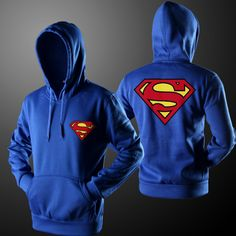 Superman Pull Over Hoodie