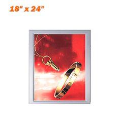 snap frame led light box backlit poster frame ultra thin light box