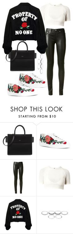"""""""Untitled #4699"""" by lilaclynn ❤ liked on Polyvore featuring Givenchy, Gucci, Yves Saint Laurent, YSL, saintlaurent, gucci and yvessaintlaurent"""