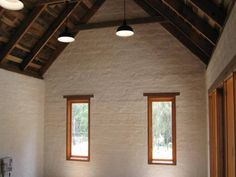 Mud Brick Cottage roof - Cottage homes Brick Cottage, Cottage Exterior, Cottage House Plans, Cottage Homes, Brick House Plans, House Floor Plans, Mud House, New Mexico Homes, Home Structure