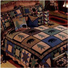 Donna Sharp Bear Walk Pillow Sham