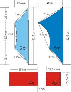 kiteplan boxkite, doosvlieger Bar Chart, Diagram, Kites, How To Plan, Barrels, Kite, Dragons, Bar Graphs