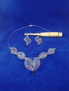 Lace Earrings, Lace Necklace, Lace Jewelry, Choker, Bobbin Lace Patterns, Lace Heart, Lace Detail, Bracelets, Head Bands