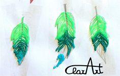 ClarArt - creations & ideas: Feathers 3D Pen