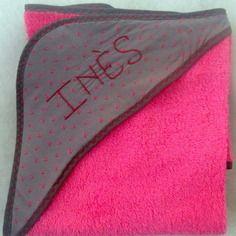 Idéal cadeau cape de bain personnalisé faites main