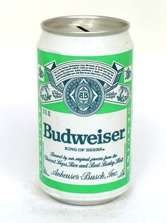 ad4c70813f88c9 Tab Tops Budweiser Lager Beer (Test) Anheuser Busch