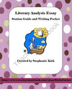 literary essay writing prompts