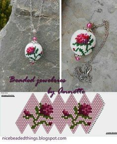 Oh goodness! This pattern needs to be tried, by me. Soon. #beading #beadwork #jewelrymaking