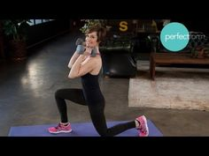 Full-Body Strength Workout | Perfect Form With Ashley Borden - YouTube