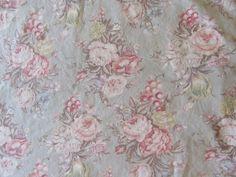 2 Ralph Lauren Charlotte Pillow Cases Standard Floral Sage Green #RalphLauren #Cottage