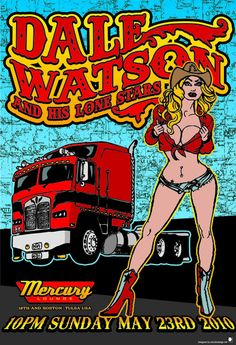 GigPosters.com - Dale Watson