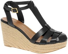 6. ASOS Host Gladiator Espadrille Wedges - 7 Gorgeous Closed Toe Sandals for Your Little Feet ... | All Women Stalk