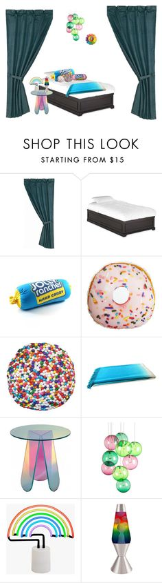 """candy room"" by abuffaloe on Polyvore featuring interior, interiors, interior design, home, home decor, interior decorating, HiEnd Accents, Dot & Bo, Johanna Howard and Fatboy"