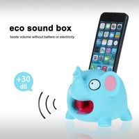 Wish | Cute Elephant Cartoon Hands-free Sound Amplifier Stand Speaker Holder for Iphone 4 Iphone 4s Iphone5 Iphone 5s Iphone 5c