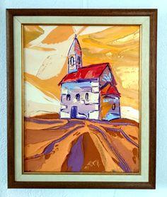 Nostalgia, 60 x 50 cm, akryl na plátne, www.turzak-art.sk, #nitra #obrazynitry #turzakart #drazovskykostolik Nostalgia, Painting, Art, Craft Art, Paintings, Kunst, Gcse Art, Draw, Drawings