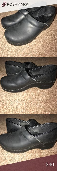 Dansko Shoes Black Dansko Shoes. Worn a few times. Dansko Shoes