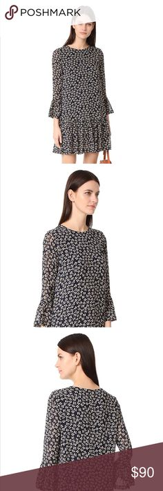 Ganni Georgette Newman dress New with Tags Ganni Dresses Midi Tunic Tops, Tags, Best Deals, Womens Fashion, Closet, Things To Sell, Dresses, Style, Vestidos