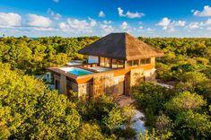 Localizado em uma zona de proteção ambiental de 152.000m2, as propriedades serão totalmente integradas com a natureza.