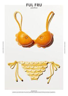 ワコールが展開する「アンフィ フルフル」、秋の果物をイメージした新作ランジェリー発売の写真2