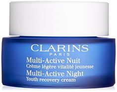 Face Skin Care Clarins Multi Active Night Youth Recovery Comfort Cream for Normal Combination Skin Clarins for Unisex 17 Ounce -- Read more reviews of the product by visiting the link on the image.