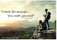 Travel far enough... You meet yourself. #quote #travel
