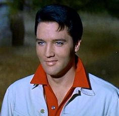"Elvis during a scene in ""Kissin' Cousins"