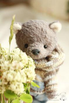 Teddy bear / Мишки Тедди ручной работы. Ярмарка Мастеров - ручная работа. Купить Стивен. Handmade. Серый, мишки, тедди медведи