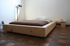 Original Design Platform Bed - $350 Chicago Scavenger- Love this designer.  His modular bookshelves are to die for.
