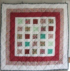 Retro Baby quilt, by adaliza.co.uk (2016) Retro Baby, Be Kind To Yourself, Baby Quilts, Blanket, Scrappy Quilts, Baby Afghans, Blankets, Cover, Baby Blankets
