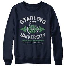 Starling City University - Sweatshirt