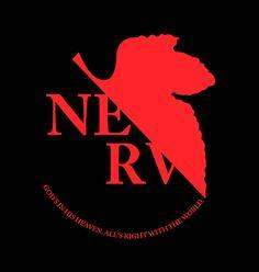 Camiseta NERV Evangelion - Véi Nerd