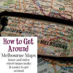 Both locals and tourists alike benefit from a map of Melbourne if they want to get really serious in exploring what this magic city in Australia has to offer Melbourne Map, Magic City, Maps, Blue Prints, Map, Cards