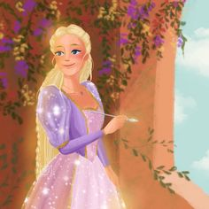 Arte Disney, Disney Art, Barbie Drawing, Rapunzel Cosplay, Princess And The Pauper, Disney Cartoon Characters, Barbie Movies, Disney Images, Princess Aesthetic