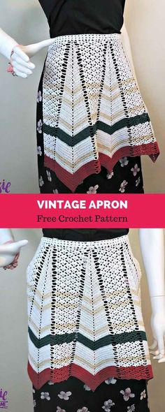 I have always loved these Vintage Crochet Aprons. Crochet Belt, Free Crochet, Knit Crochet, Crochet Style, Vintage Crochet Patterns, Crochet Designs, Crochet Dishcloths, Crochet Kitchen, Modern Crochet