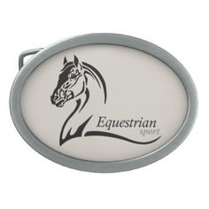 equestrian sport belt buckle - horse animal horses riding freedom