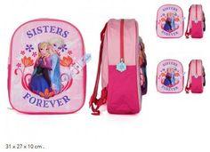 Kinder Rucksack Elsa Anna Sisters forever