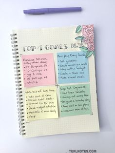 These weekly bullet journal ideas are EVERYTHING! Create your bullet journal weekly spread with a little inspiration. Some of these bujo setup ideas are easy for beginners and look AMAZING. Bullet Journal Weekly Spread, Bullet Journal Goals Page, Bullet Journal 2019, Bullet Journal Ideas Pages, Bullet Journal Inspo, My Journal, Journal Pages, Self Care Bullet Journal, Bullet Journal For School