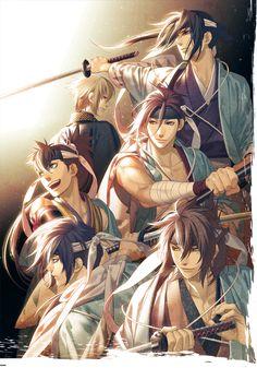 Look at dat muscle  Anime/ Game: Hakuouki