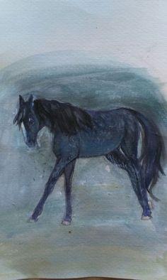 #my art #painting #blue #K.R.