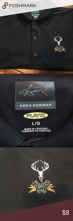 Greg Norman Golf shirt Armpit to armpit is 22 inches. Length is 29 inches. on the byas Shirts