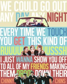 I smile like an idiot every time I hear this song!!! But I love it!!!