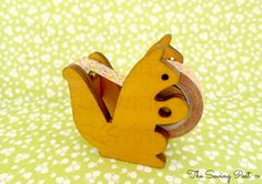 ♡ squirrel tape dispenser♡