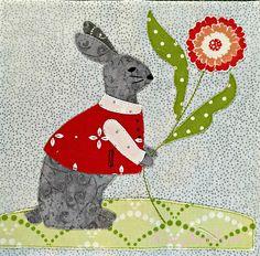 The Splendid Sampler Block 25 - Colleen | Fancy Foot Farm. Block 25 Sunday Best by Anne Sutton