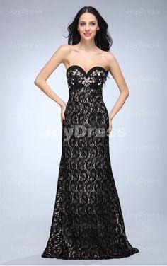 cheap maxi dresses,maxi dresses black  ,Black Ribbon A-line Sweetheart Floor-length Dress  Printed Maxi Dress #2dayslook #sunayildirim #PrintedmaxiDress  www.2dayslook.com